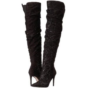 709d5e1bdb9 Jessica Simpson Shoes - Like New Jessica Simpson Luxella Thigh High Boot 9
